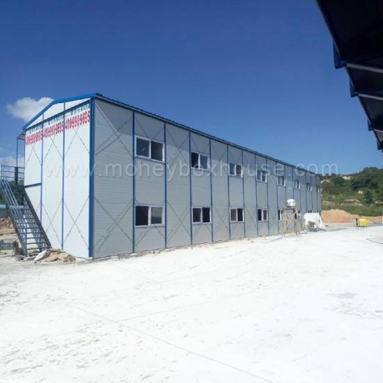 Comprar peque a casa prefabricada low cost con el marco de la estructura de piso de acero - Casas prefabricadas low cost ...